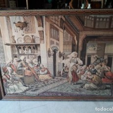 Antigüedades: TAPIZ ESCENA MORISCA. Lote 165316022