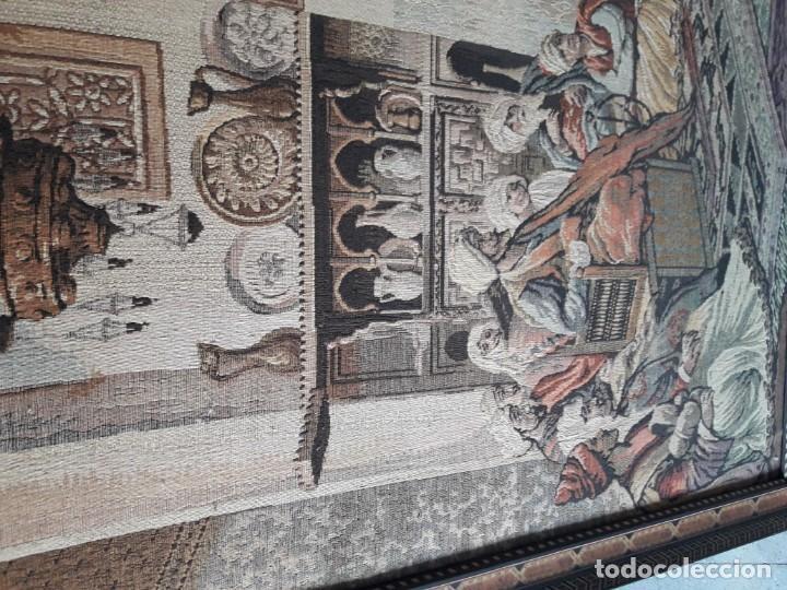 Antigüedades: Tapiz escena morisca - Foto 2 - 165316022