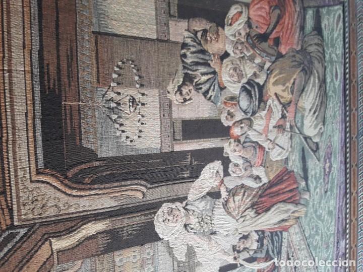 Antigüedades: Tapiz escena morisca - Foto 3 - 165316022