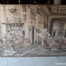 Antigüedades: TAPIZ ESCENA ÁRABE . Lote 165317294