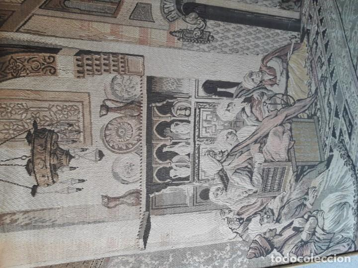 Antigüedades: Tapiz escena árabe - Foto 2 - 165317294