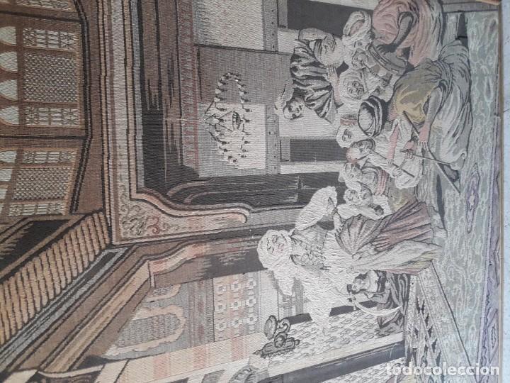 Antigüedades: Tapiz escena árabe - Foto 3 - 165317294