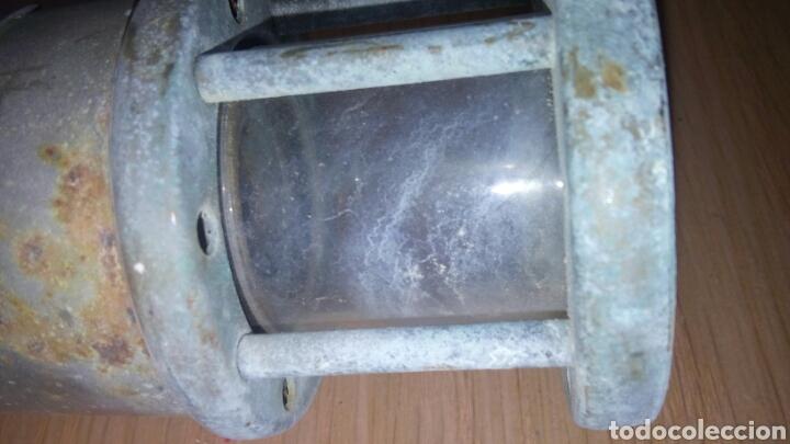 Antigüedades: ANTIGUA LAMPARA FAROL DE MINERO *LAMP & LIMELIGHT* COLLIERY - Foto 11 - 165325872