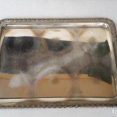 Antigüedades: BANDEJA DE ALPACA. Lote 165327182