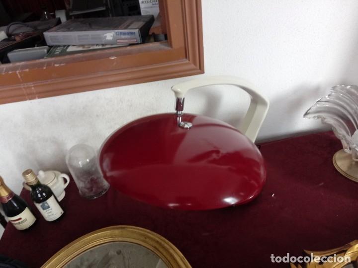 Antigüedades: Lampara roja fase - Foto 13 - 159580122