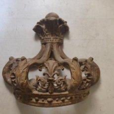 Antigüedades: DOSEL CORONA PARA VIRGEN O SANTO. Lote 165371049