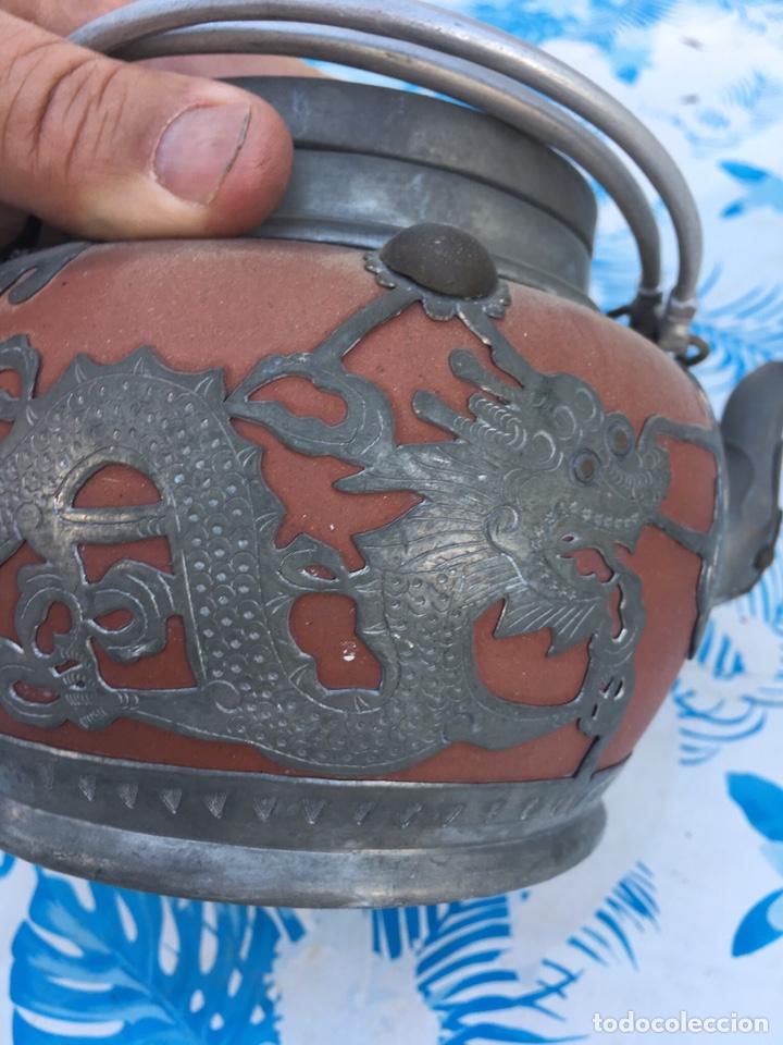 Antigüedades: Tetera china - Foto 2 - 165389180
