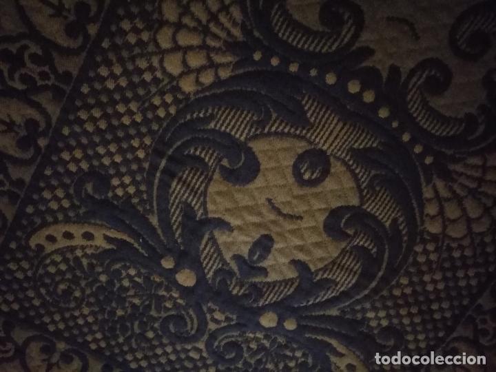 Antigüedades: ESPECTACULAR Alfombra DE LANA HECHA A MANO CON BELLOS FLECOS DE BORLAS 195 X 105 CM BUEN ESTADO - Foto 15 - 165393506