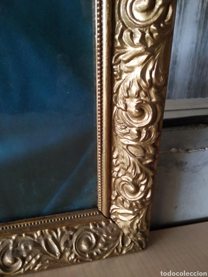 Antigüedades: Cuadro de madera con cristal - Foto 4 - 165397394