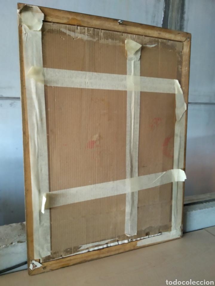 Antigüedades: Cuadro de madera con cristal - Foto 9 - 165397394