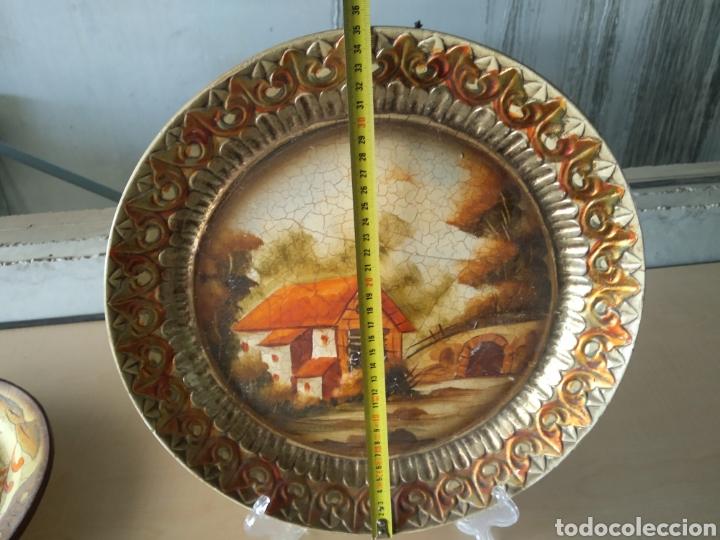 Antigüedades: Plato decorativo - Foto 3 - 165405930