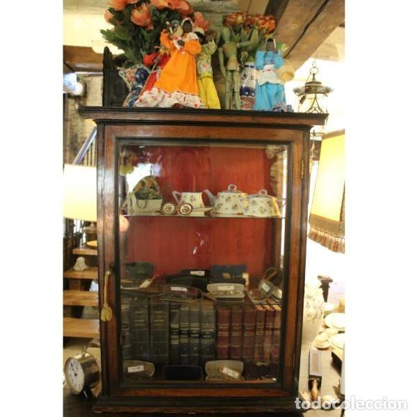 Antigüedades: Antigua vitrina de palisandro - Foto 2 - 165417106