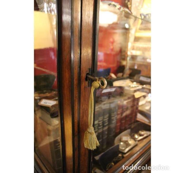 Antigüedades: Antigua vitrina de palisandro - Foto 5 - 165417106
