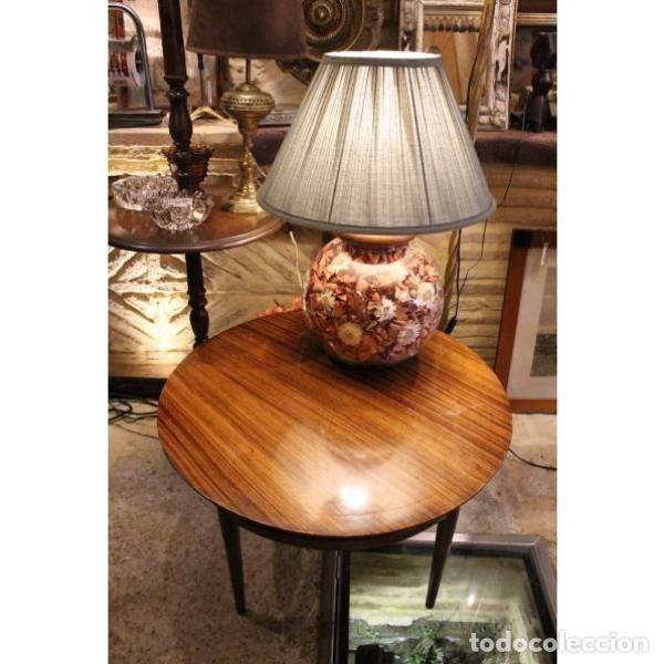 Antigüedades: Antigua mesa de madera de palisandro - Foto 2 - 165417122