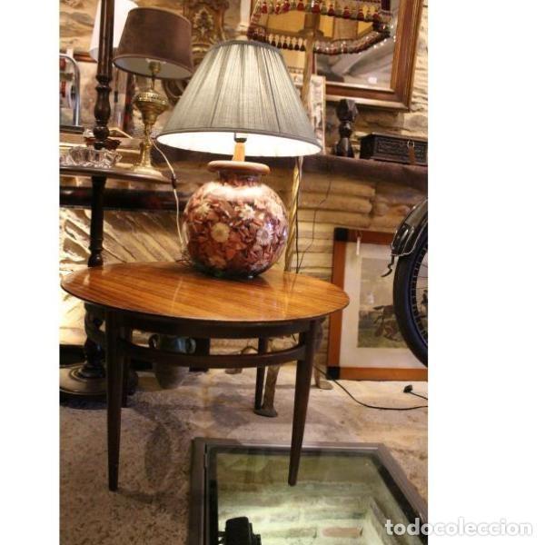 Antigüedades: Antigua mesa de madera de palisandro - Foto 3 - 165417122