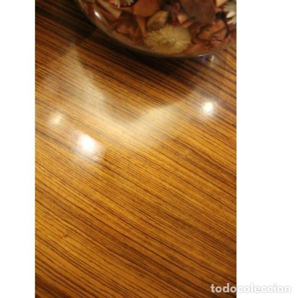 Antigüedades: Antigua mesa de madera de palisandro - Foto 4 - 165417122