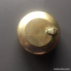 Antigüedades: CENICERO BRONCE 8CM DIÁMETRO. Lote 165444822