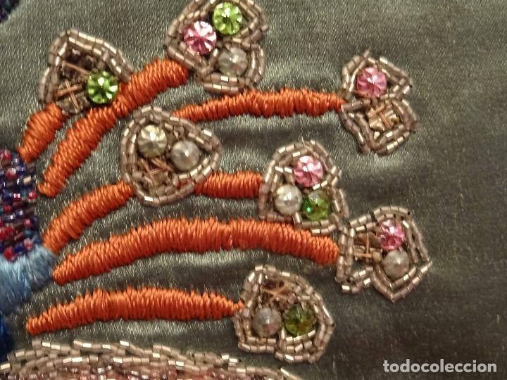 Antigüedades: Frente Bordado Sglo XIX - Foto 10 - 165448182