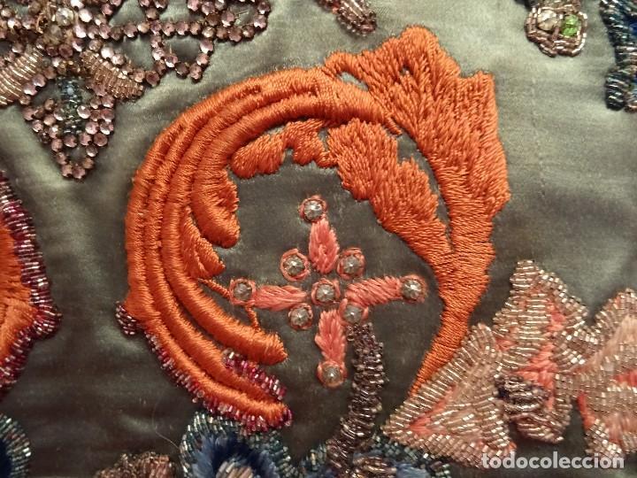 Antigüedades: Frente Bordado Sglo XIX - Foto 15 - 165448182