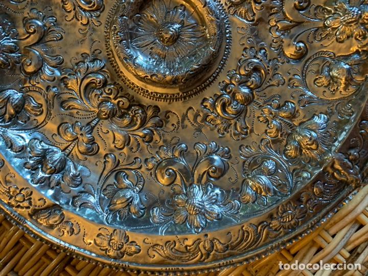 Antigüedades: Bandeja de plata española siglo XVII Cordoba por - Foto 2 - 165463462