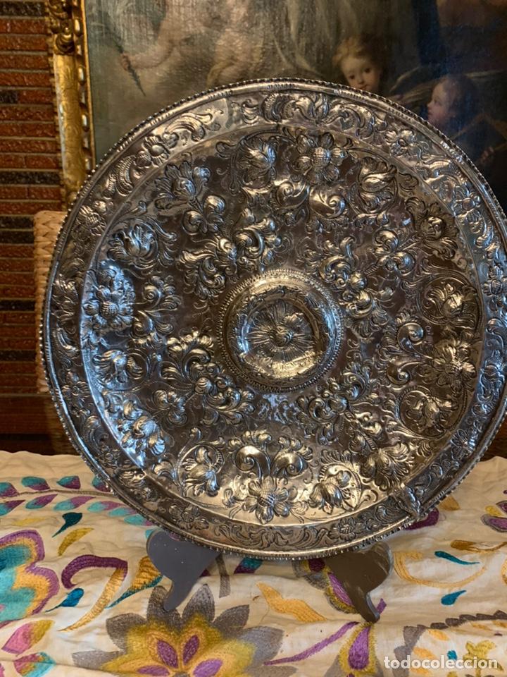 Antigüedades: Bandeja de plata española siglo XVII Cordoba por - Foto 7 - 165463462
