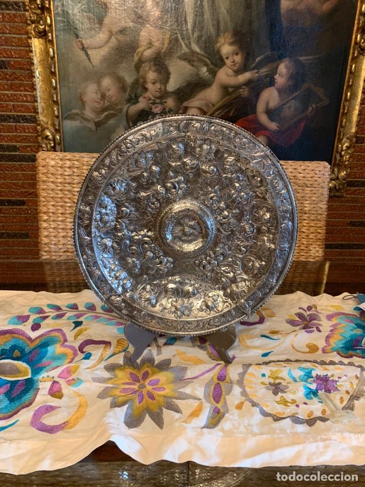 Antigüedades: Bandeja de plata española siglo XVII Cordoba por - Foto 8 - 165463462