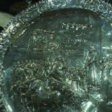 Antigüedades: BANDEJA DE PLATA FRANCESA SIGLO XIX. Lote 165490565