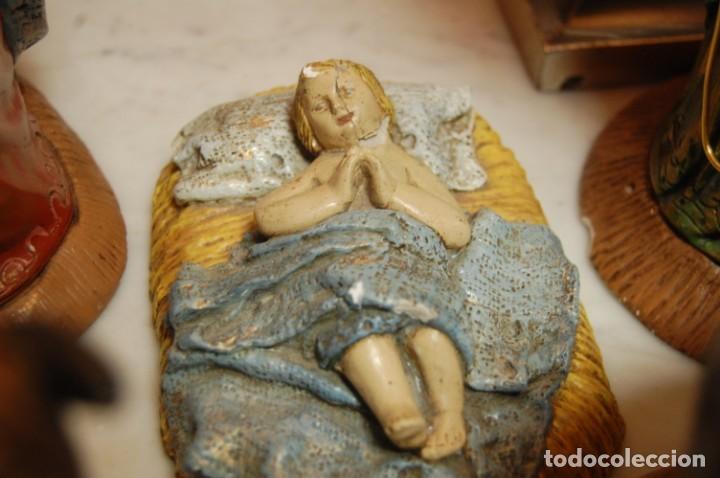 Antigüedades: Belén de escayola - Foto 7 - 165496274