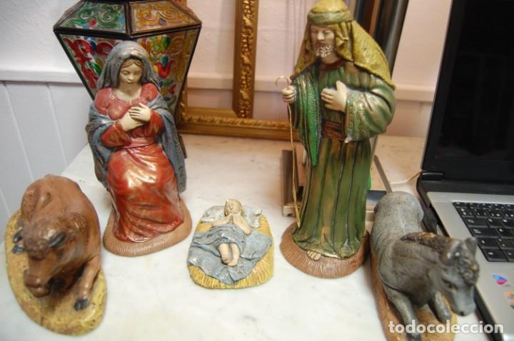 Antigüedades: Belén de escayola - Foto 8 - 165496274