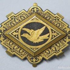 Antigüedades: PRECIOSO BROCHE DE DAMASQUINO. TOLEDO. PPIOS. SIGLO XX. Lote 165498378