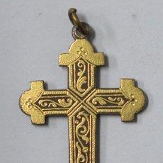 Antigüedades: ANTIGUA CRUZ DE DAMASQUINO. TOLEDO. PPIOS SIGLO XX. Lote 165499362