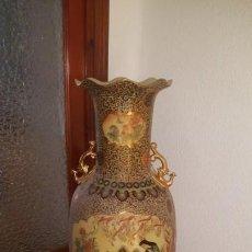 Antigüedades: JARRON SATSUMA STYLE 135CM. Lote 165502034