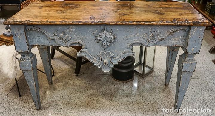Antigüedades: Consola francesa Luis XVI, estilo Provenzal- S.XVIII - Foto 5 - 165520506