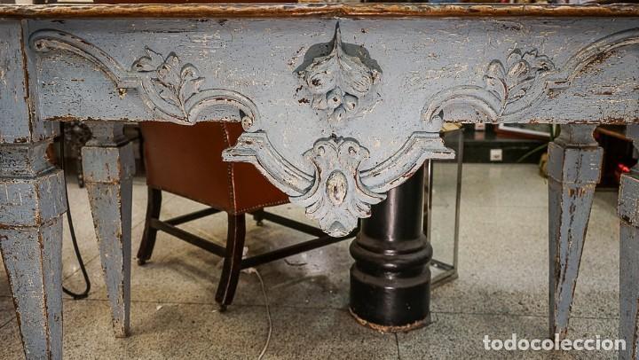 Antigüedades: Consola francesa Luis XVI, estilo Provenzal- S.XVIII - Foto 12 - 165520506