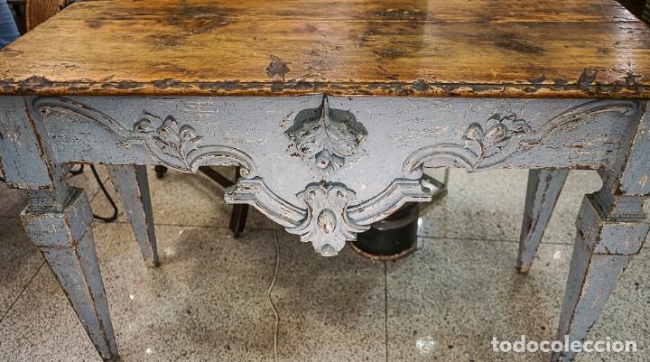 Antigüedades: Consola francesa Luis XVI, estilo Provenzal- S.XVIII - Foto 13 - 165520506