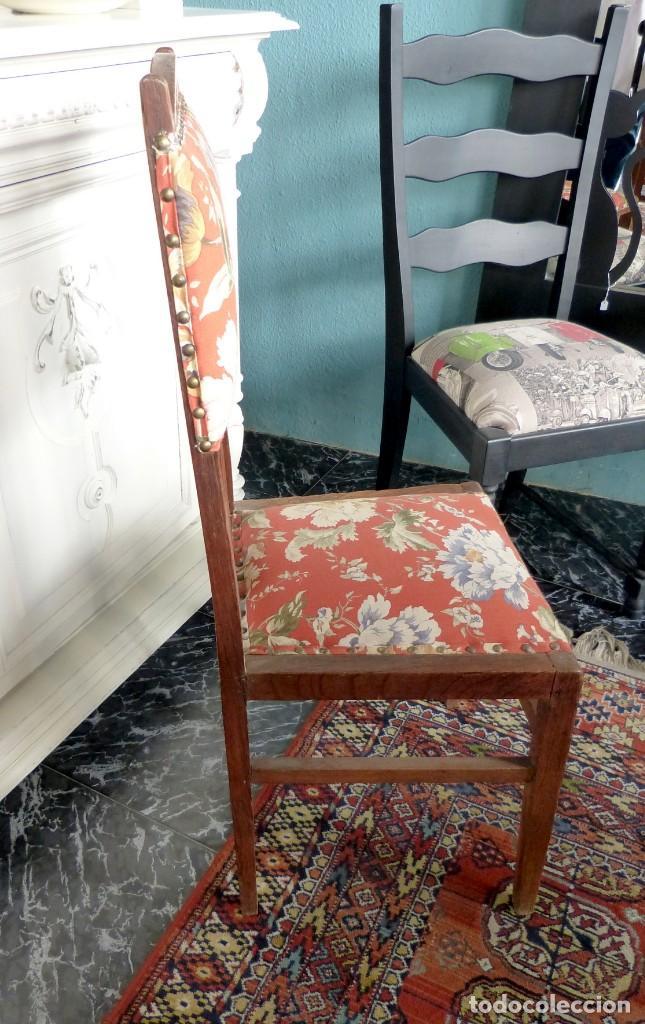 Antigüedades: Conjunto de 6 sillas modernistas - Foto 3 - 165527966