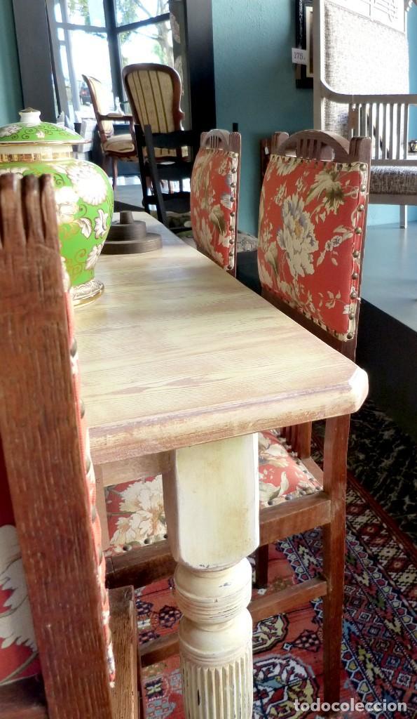 Antigüedades: Conjunto de 6 sillas modernistas - Foto 5 - 165527966