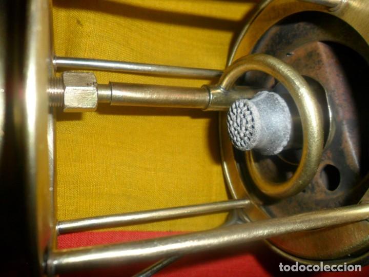 Antigüedades: farol de bronce marca -viking - 200 - Foto 13 - 165528090