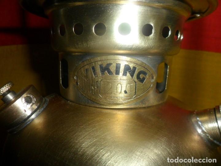 Antigüedades: farol de bronce marca -viking - 200 - Foto 27 - 165528090