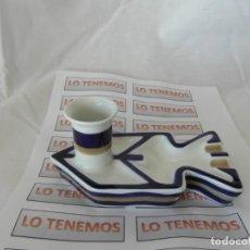 Antigüedades: BARCO DE PORCELANA DE SARGADELOS. Lote 165536546