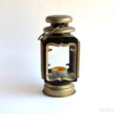 Oggetti Antichi: FAROLILLO DE 19 CM DE ALTO POR 9 DE ANCHO. Lote 165556158