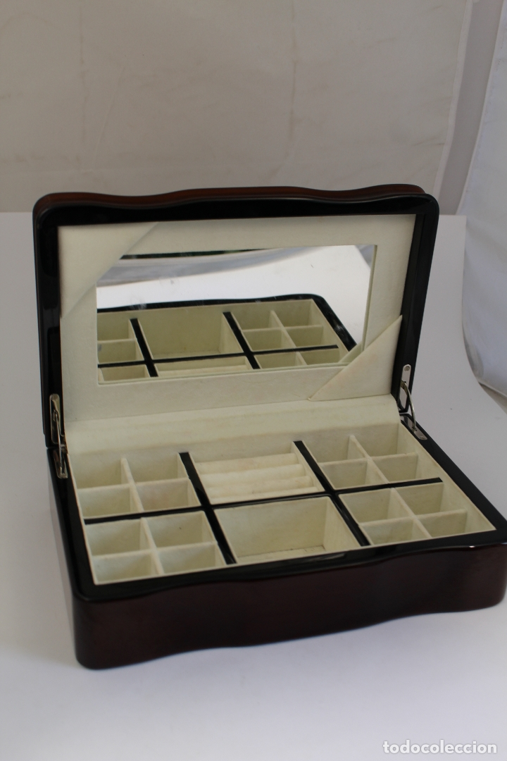 Antigüedades: caja joyero marca cambau en plata de ley 925milesimas - Foto 6 - 176039990