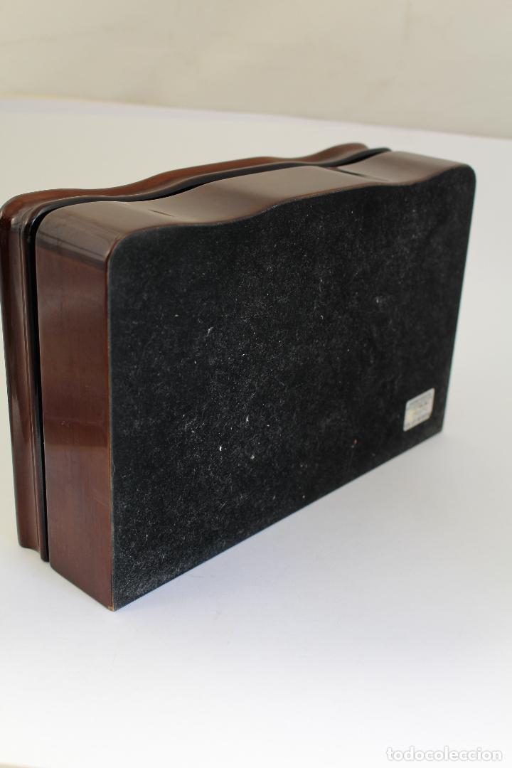 Antigüedades: caja joyero marca cambau en plata de ley 925milesimas - Foto 10 - 176039990