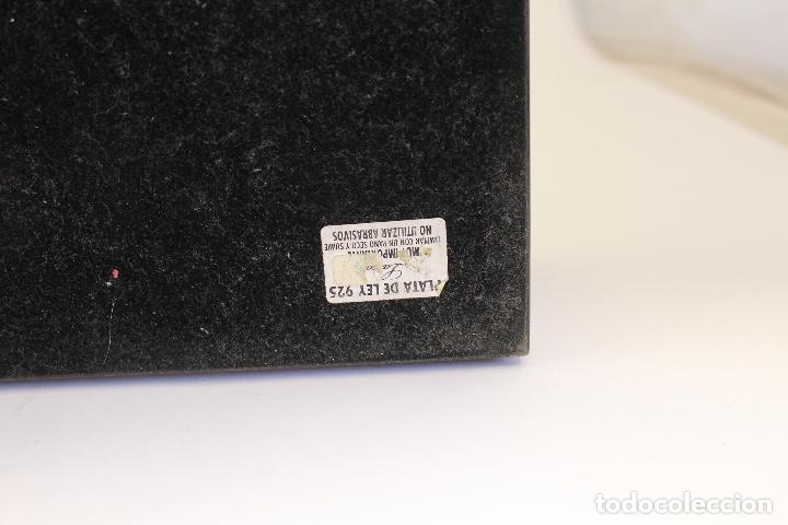 Antigüedades: caja joyero marca cambau en plata de ley 925milesimas - Foto 11 - 176039990