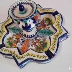 Antigüedades: CENICERO FUENTE DE LA ALHAMBRA. Lote 165604326