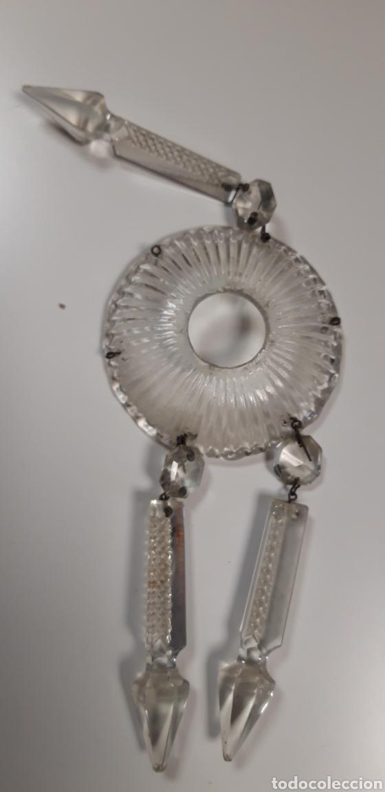Antigüedades: Lote repuesto para lámpara de cristal - Foto 4 - 165620992