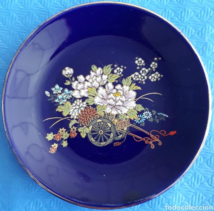 PORCELANA JAPONESA SATHUMA ORO DE LEY (Antigüedades - Porcelana y Cerámica - Japón)