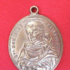 Antigüedades: MEDALLA DE STE DOMINICE Y REGINA SACRI ROSATII. Lote 210622002