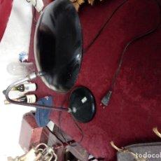 Antigüedades: LAMPARA CISNE TIPO FASE. Lote 165652378