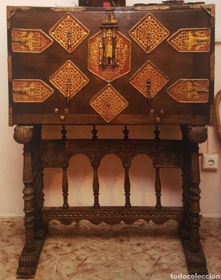 BARGUEÑO S.XVII (Antigüedades - Muebles Antiguos - Bargueños Antiguos)